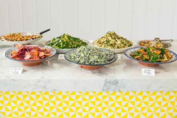 Bel Air Sharing Salads